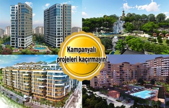 60 ay 0 faiz fırsatıyla ev alabileceğiniz 8 proje!