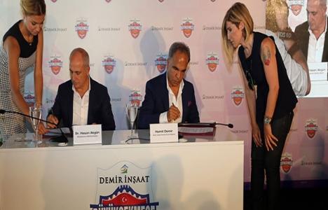 Demir İnşaat Büyükçekmece Basketbol takımının isim sponsorluğunu üstlendi!
