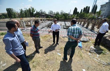 Ankara Pursaklar'da yeni belediye binası inşa ediliyor!