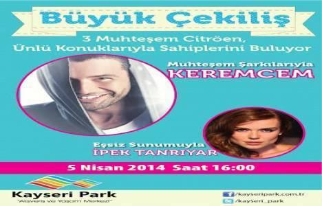 Kayseri Park araba çekilişi sonuçları 2014!