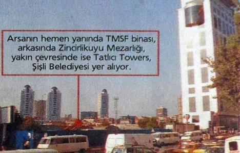 2005 yılında TMSF, Telsim arsasını 41.6 trilyona Özyeğin'e satmış!