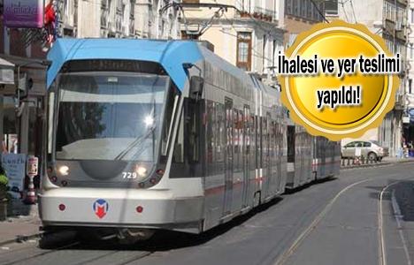 Eminönü'nden Eyüp'e tramvay