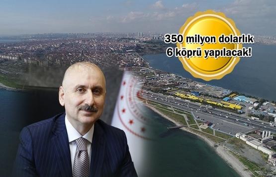 Kanal İstanbul'a ilk köprü haziranda!