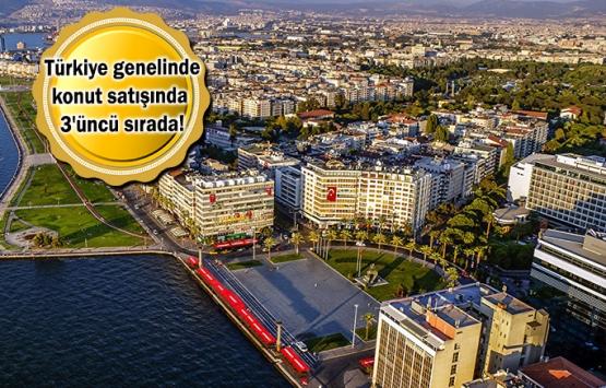 İzmir'de Eylül ayında 6 bin 207 konut satıldı!