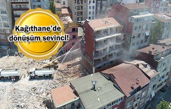 Kağıthane Yahya Kemal'de dönüşüm başladı!