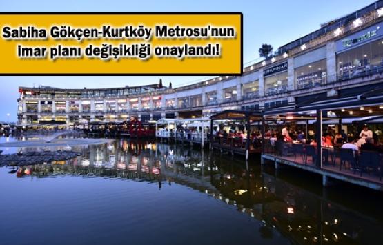 Kurtköy Viaport'a metro geliyor!