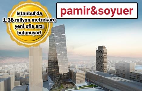İstanbul A sınıfı ofis arzı 3,36 milyon metrekareye ulaştı!