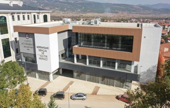 Serinhisar Gençlik ve Kültür Merkezi'nin inşaatı tamamlandı!