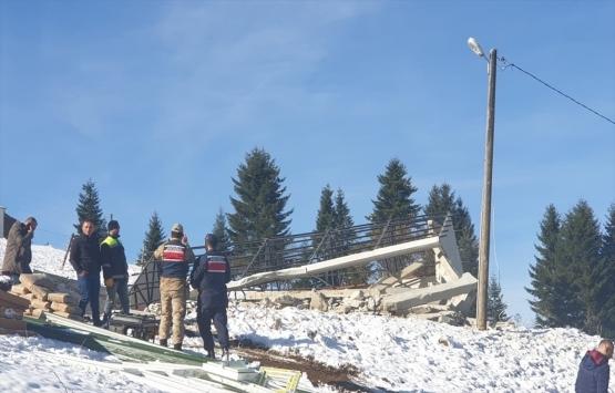 Trabzon'da izinsiz inşa