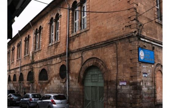 Şanlıurfa'daki Tarihi Şehit Nusret Orta Okulu restore edildi!