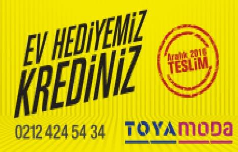 Toya Moda'da taksitleri teslimden 15 ay sonra ödeyin!