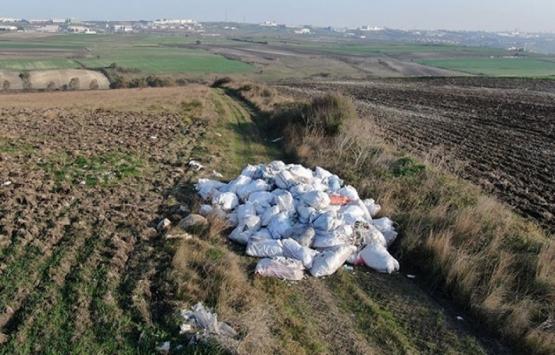 Büyükçekmece ve Arnavutköy'deki tarım alanları moloz çöplüğüne döndü!