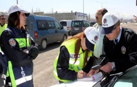 Geçen hafta trafik denetimlerinde 51 bin 174 sürücüye ceza işlemi uygulandı!