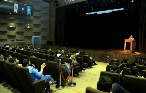 Hasan Kalyoncu GSMF'de mimarlığın gelişimi konuşuldu!