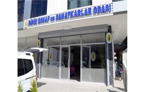 Didim'de esnafların yeni hizmet binası açıldı!
