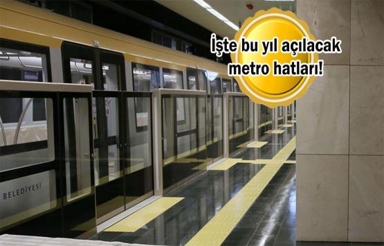 İstanbul'un bu ilçelerinde oturanlara metro müjdesi!