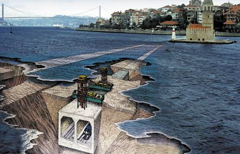 Marmaray'da test sürüşleri