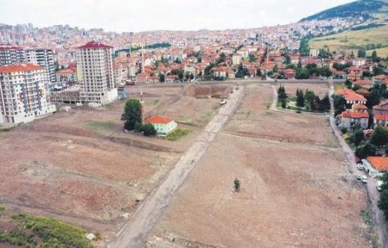 Altındağ'da kentsel dönüşüm molozları temizleniyor!