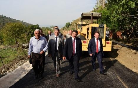 Manisa Şehzadeler'deki asfaltlama