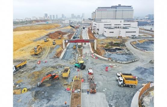 Başakşehir İkitelli Şehir Hastanesinin yollarının yapımına başlandı!