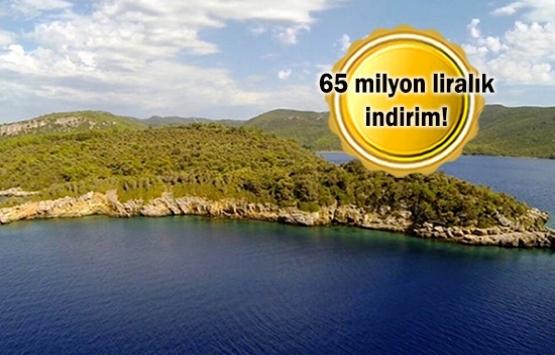 Marmaris Karaca Adası 145 milyon TL'ye satışa çıktı!
