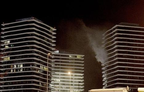 Zorlu Center'dan yangın