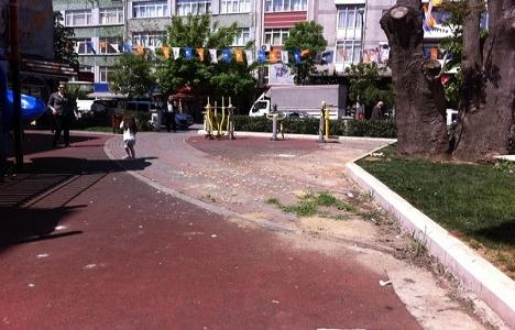 Fatih Kızılelma Parkı yenilendi!