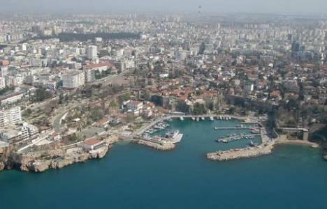 İnşaat sektörü Antalya'nın büyümesini sağladı!