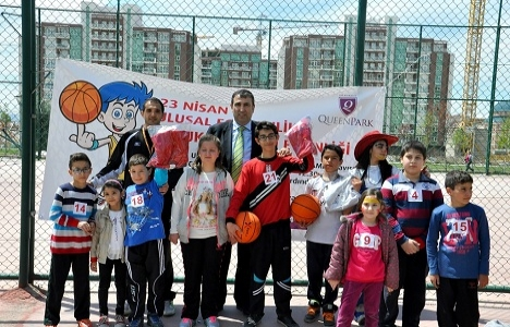 Urankent'te 23 Nisan basket turnuvasıyla kutlandı!