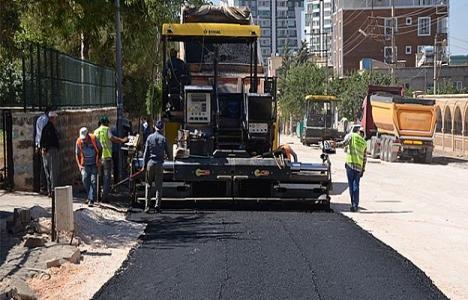 Şanlıurfa Siverek'te asfaltlama çalışmaları başladı!