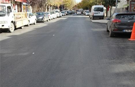 Sakarya Ankara Caddesi yeni yüzüne kavuştu!