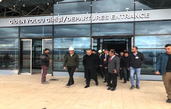 Muş Havalimanı'na 41.2 milyon TL'lik yeni bina!