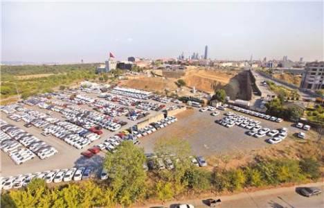 Seyrantepe'deki Oyak arazisini Çevre ve Şehircilik Müdürlüğü inceledi!