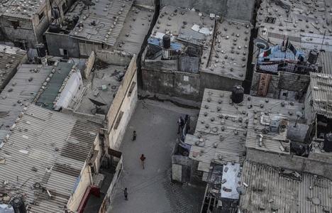 Katar'dan Gazze'de evlerin