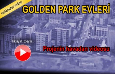 Golden Park Evleri'nin havadan görüntüleri!