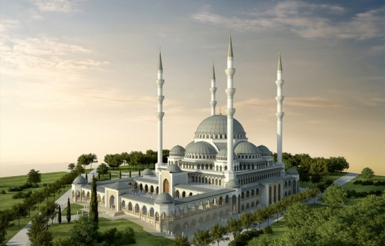 Bursa Uludağ Üniversitesi Yeni Cami projesinin yüzde 35'i tamamlandı!