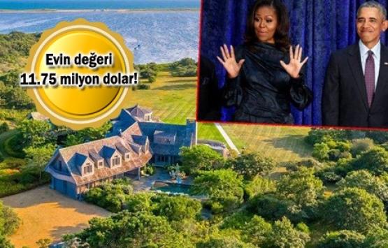 Obama ve ailesi ev satın aldı!