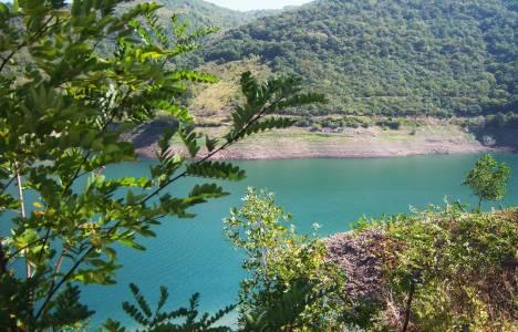 Yuvacık Barajı'ndaki su