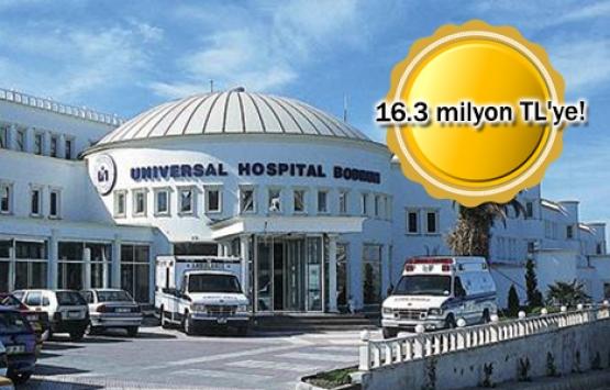 Üniversal Bodrum Hastanesi icradan satışa çıkarıldı!