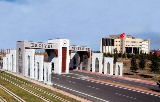 Erciyes Üniversitesi'ne tahsisli