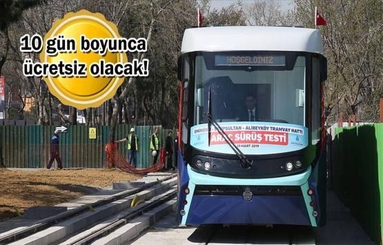 Eminönü-Alibeyköy Tramvay Hattı yarın açılıyor!