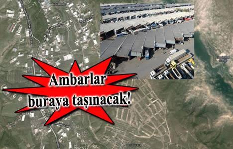 Nakliye ambarları için Hadımköy'de yer aranıyor!