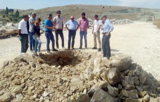 Yozgat Çalışkan Göleti'nin inşaatı hızlandı!
