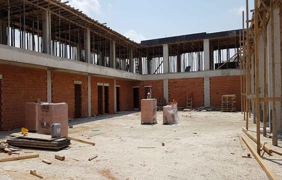 Kocaeli İtfaiye Terminal Müfreze binasının inşaatı yükseliyor!