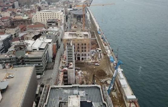 Galataport'un son hali böyle görüntülendi!