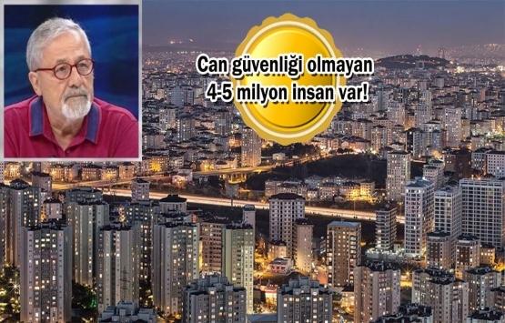 Prof. Dr. Naci Görür'den kan donduran İstanbul depremi açıklaması!