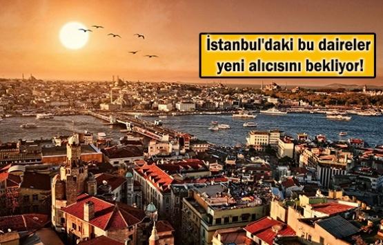 İstanbul'un 39 ilçesinde icradan satılık 3 bin konut!
