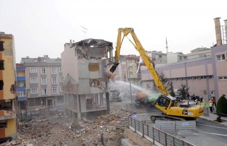 Bağcılar kentsel dönüşüm yıkım