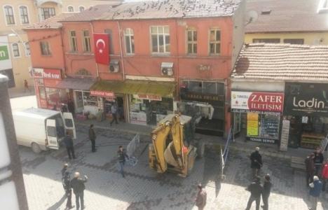 Bolu'da riskli 2 işyeri boşaltıldı!
