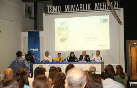 TSMD Mimarlık Türkiye Projeleri paneli düzenlendi!
